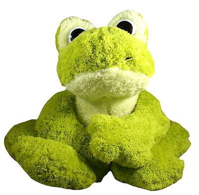 inware Stofftier Plüschtier Kuscheltier Freaky Frosch grün 65 cm