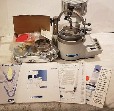 Erkodent Erkofrom Rve Dental Lab Vacuum Former With Accessories  Ts
