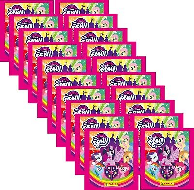 ) - Schule der Freundschaft - 20 Booster (100 Sticker) (My Little Pony Sticker)