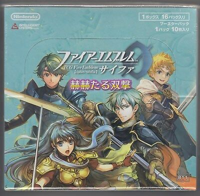 Fire Emblem 0 Cipher Card Game Booster Part 11 Sealed Box B11 Japanese