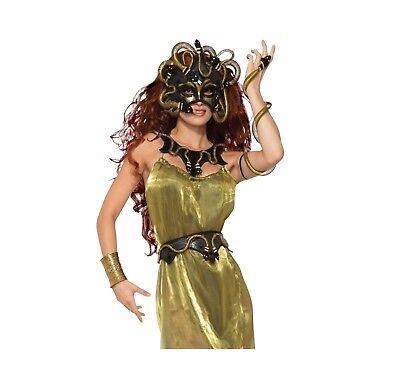 Erwachsene Damen Griechische Mythologie Medusa Zubehör Aller Art Kostüm