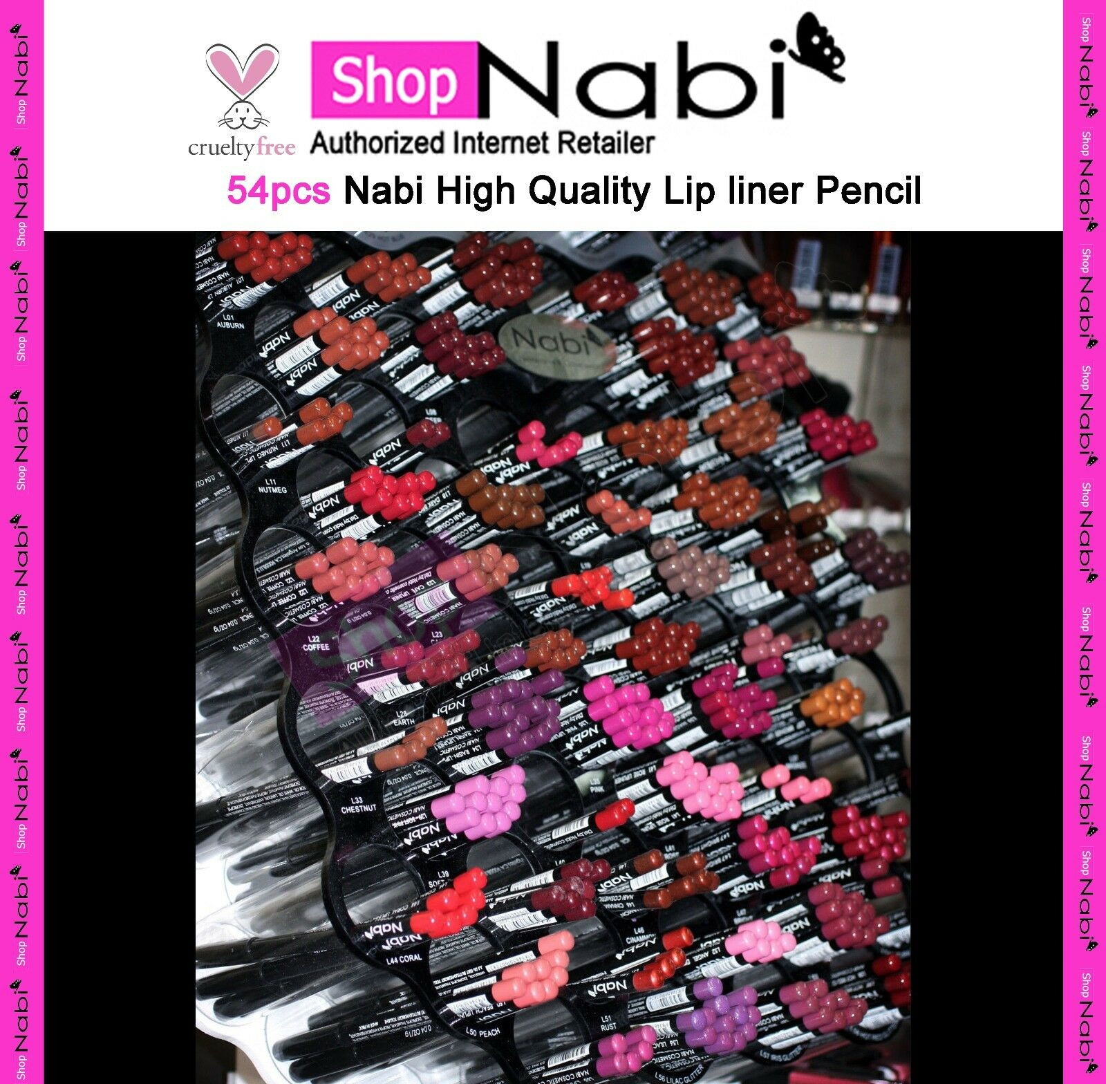 15pcs Neon Color Nail Polish Nabi Nail Polish
