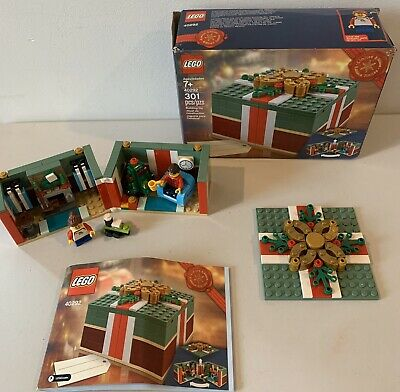 LEGO 40292 Buildable Holiday Present Christmas Gift  - Limited Edition