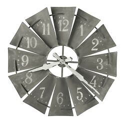 625-671 NEW HOWARD MILLER 34' WALL CLOCK WINDMILL WALL    625671