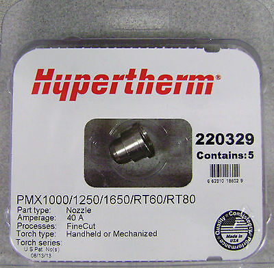 Hypertherm Genuine Powermax 100012501650 Fine Cut Nozzle 220329