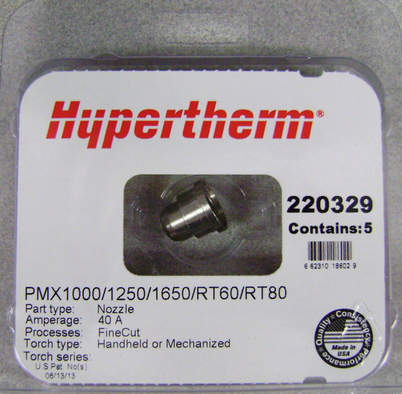 Hypertherm Genuine Powermax 1000/1250/1650 Fine Cut Nozzle 220329