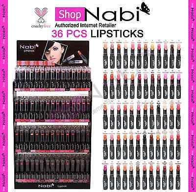 36pcs Lipstick Nabi Round Lipsticks _cruelty Free