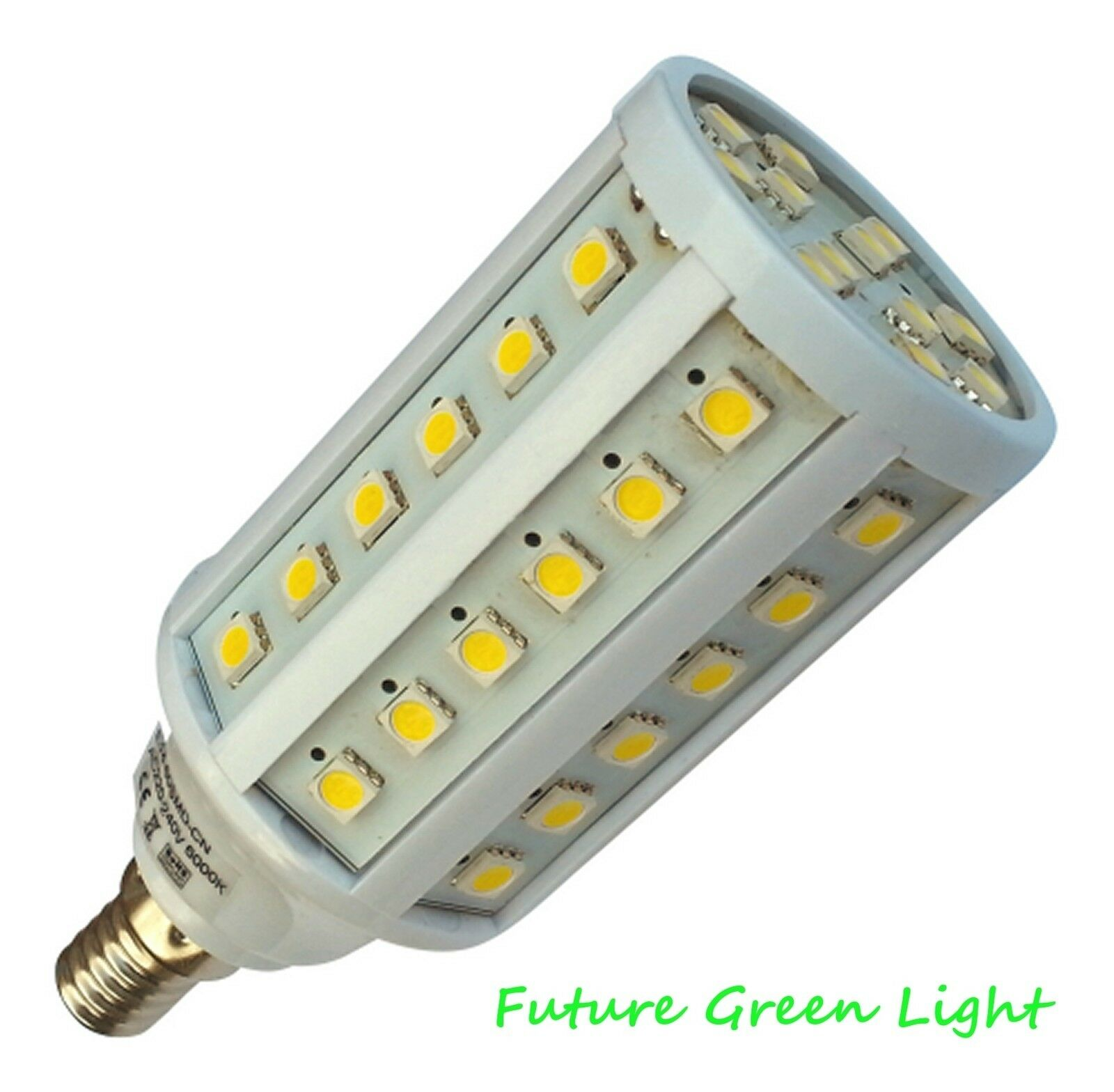 e14 ses 60 smd led 240v 9w 1000lm white corn bulb 70w ebay. Black Bedroom Furniture Sets. Home Design Ideas