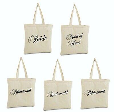 Bride Canvas Duffle Tote Bag New w/o Tags Bridesmaid maid of honor Gift wedding