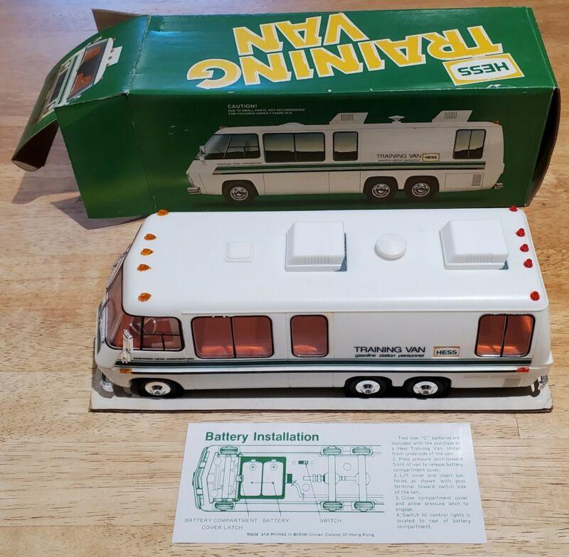 Vintage 1980 Hess * Hess Training Van * MIB / NIB * Adult Collection * Complete