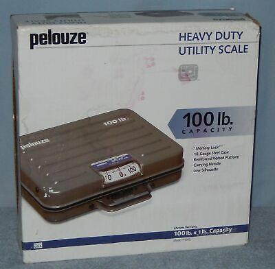Pelouze 100 Lb X 1lb Heavy Duty Utility Shipping Scale P100s Bascula