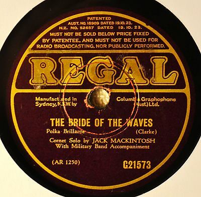 - Jack Mackintosh Cornet Solo Marching Band Bride of the Waves Sounds from Hudson