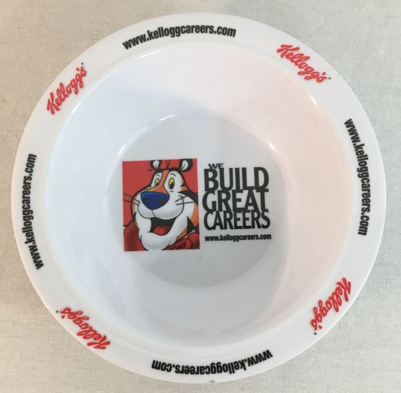 Pre-owned Kelloggs Tony the Tiger Breakfast Cereal Bowl Careers Advertising