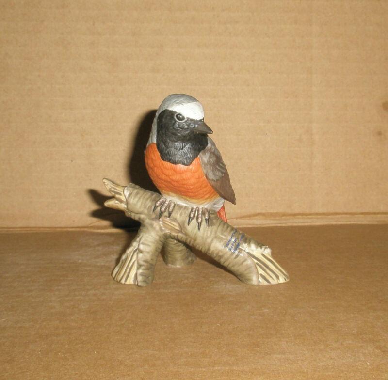 Goebel Bird Figurine Redstart