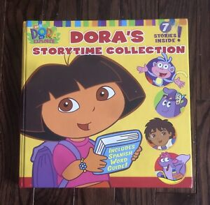 Thick hardcover Dora's Story Time Collection Book