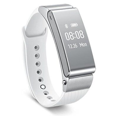 Huawei Wearable Activity meter Smart Watch TalkBand B2 White Gold F/S w/Track#