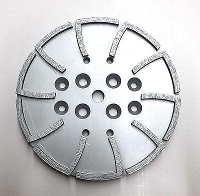 10 Pro Concrete Grinding Head Disc Plate For Edco Floor Grinder-20 Segs Premium