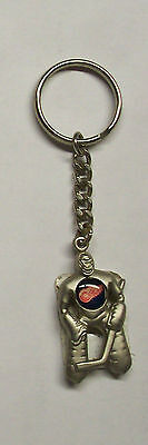 NHL DETROIT RED WINGS on Chest of Hockey Goalie Keyring