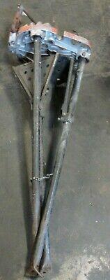 Ridgid 40a Tri Stand Tri-stand Yoke Vise Used