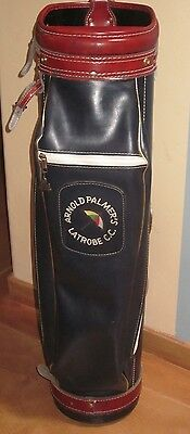 GOLF BAG  ARNOLD PALMER's LATROBE CC Pro Group Inc  GREAT DISPLAY!!! For AP Club