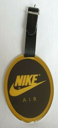 Vintage Nike Air Metal Luggage Tag