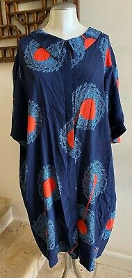 NWOT HENRIK VIBSKOV Abstract Print Relaxed Fit Dress, One Size Fits All