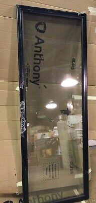Anthony Etecdcp3hr 25 1516 X 72 3 Pane Glass Black Comm. Refrigerator Door