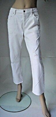 CITIZENS OF HUMANITY Jeans Neu DYLAN W29 Drop rise cropped jean Weiß Boyfriend Dylan Boyfriend-jeans