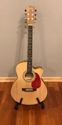 * BRANDON LANCASTER * signed autographed acoustic guitar * LANCO * 1
