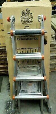 Little Giant 10102w Type 1a Model 17 Ladder W Work Platform