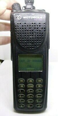 Motorola Xts 3000 800 Mhz H09uch9pw7bn Handie-talkie Fm Two Way Radio