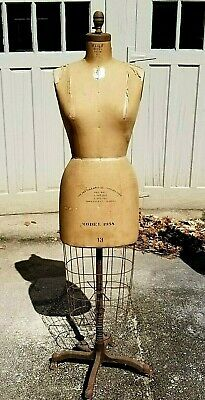 Designers Personal Wolf Dress Form 50yrs Nyc Garment Center 1958siz13 Vintage