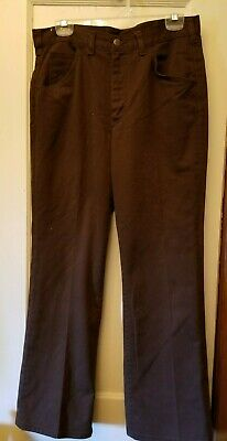 Lee Rider Boot Cut Flare Brown Jeans 32 X 30  Size 12 / 14 ()