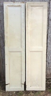 2 x Victorian cupboard panels (repair)