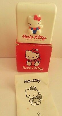 Vintage Mini Hello Kitty Motorised Letter Opener with original box.