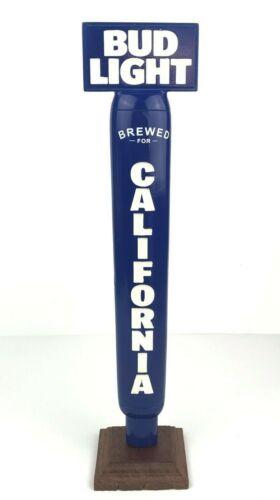 "Bud Light Brewed for California 14"" Draft Beer Keg Tap Handle Shift Knob"