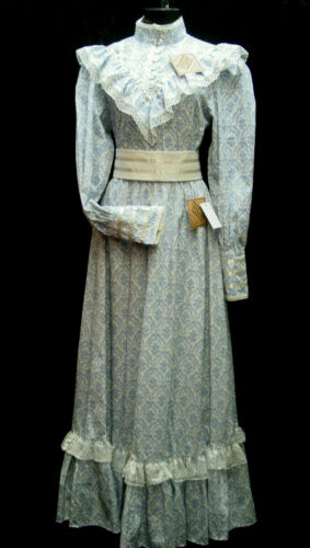Victorian Pioneer 1900s Vintage Old West style Theater Reenactment Costume Dress