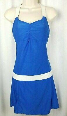 Wilson Womens Tennis Apparel (Wilson womens tennis dress size S petite blue white athletic sport racquet ball )