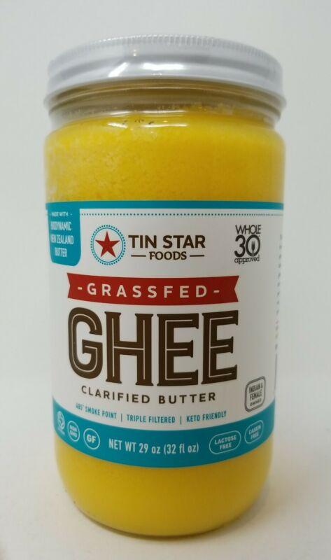 Tin Star Foods Grassfed Clarified Butter Ghee 32 Fl. Oz.