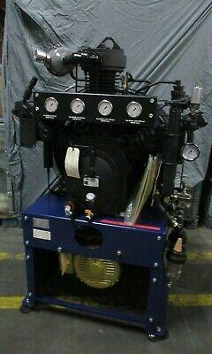 3m Scott Safety 6000psi Breathable Air Compressor 15hp Controller Hush Enclosure