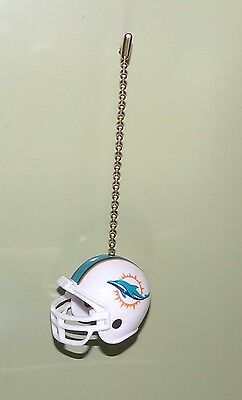 - > MIAMI  DOLPHINS - CHRISTMAS ORNAMENT, CEILING FAN PULL or CAR HANGER