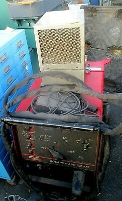 Lincoln Square Wave Model Tig 275 With Tweco Tc900 Cooling Unitdealfcfs