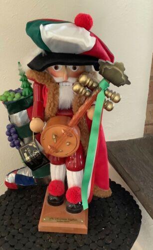 STEINBACH Italian Santa Nutcracker ES1836 RARE GUISEPPE CHRISTMAS LEGENDS SIGNED