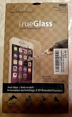 New iCarez True Glass Pro Screen Protection Kit Protector Ap