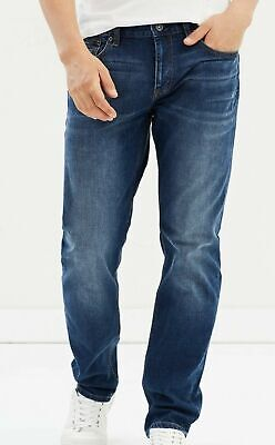 Jag Mens Dean Loose Tapered Jeans size 31 Colour Mid Blue