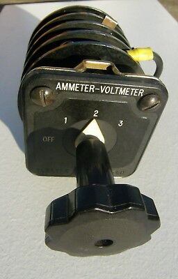 Electroswitch Series 24 Rotary Switch 2415c 9946 Ammeter- Voltmeter