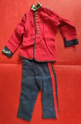 🇬🇧 Vintage Action Man Royal Life Guard Uniform Outfit Queens Guard Red Coat