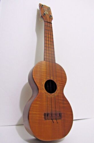 1915 Jonah Kumalae Gold Me Soprano Ukulele Vintage - ( unusual inside markings )