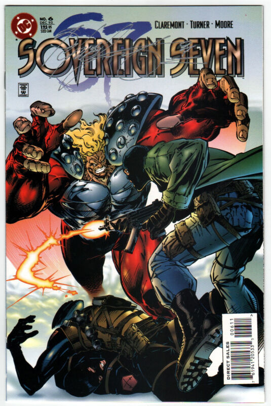 DC Comics SOVEREIGN SEVEN #6 Signed by CHRIS CLAREMONT w/ COA