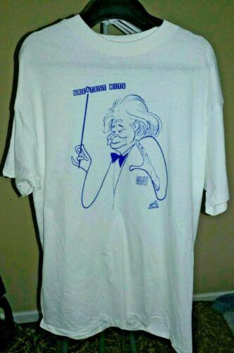 Vintage Al Hirschfeld ~ Arthur Fiedler T-shirt XL New ~ Never Worn!